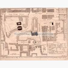 westminster abbey floor plan plan of westminster hall and abbey 1821 u2013 kittyprint