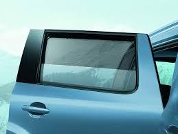 yeti rear window sun blind set original skoda auto a s