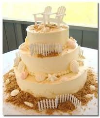 seashell wedding cake unique designs for summer wedding cakes