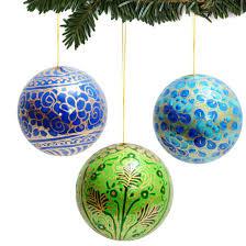 decorations ornaments multi color tree balls