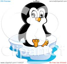 penguin clipart iceberg clipart pencil and in color penguin