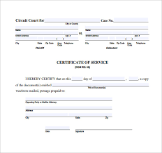 service certificate template 28 images free certificate