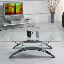 Modern Glass Coffee Tables Contemporary Glass Coffee Tables For Contemporary Looking Room