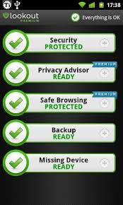 lookout android safeguard your device with lookout mobile security android