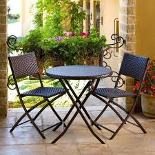 patio ideas diy furniture for small balcony wooden table and