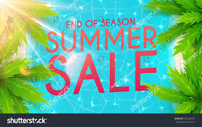 summer sale banner beautiful background on stock vector 452336476