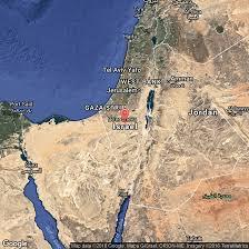 Desert Map Deserts Of Israel Usa Today