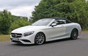 convertible mercedes 2015 spy video 2015 mercedes benz s 63 amg coupe on the nurburgring
