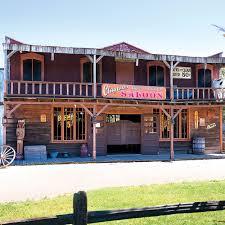 the 23 acre wild west town amusement park hammacher schlemmer