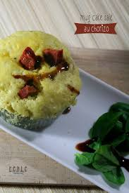 recette de cuisine salé et découvrit la cuisine mug cake salé au chorizo