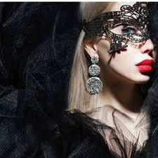 Masquerade Ball Halloween Costumes Aliexpress Buy 20pcs Fancy Lace Black Mask Masquerade