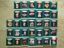 lot of 33 hallmark miniature ornaments 1993 1995 1997 antique