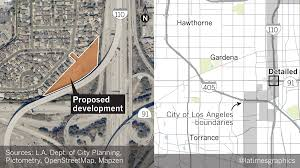 Los Angeles Air Quality Map by A Plan To Build Homes At The 91 To 110 Freeway Interchange Is Back