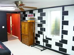 good way to cover up cinder block walls in the basement for the