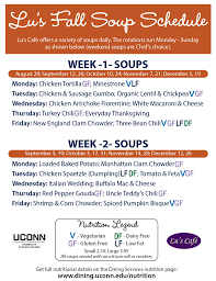 thanksgiving everyday soup uc cafes soup schedule dining services