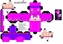 Sonic The Hedgehog Papercraft - amelia rubin the hedgehog images amelia papercraft hd wallpaper