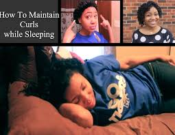 aleeping in petm rods how i maintain curls all week sleeping to make your style last