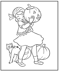 60 halloween images coloring pictures kids