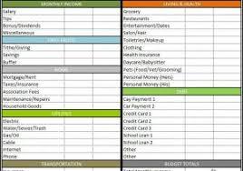 budget worksheet template free printable debt snowball calculator