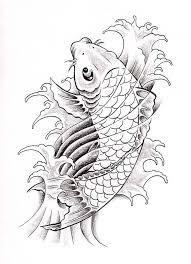 koi fish drawing best tattoo design jpg 578 800 koi fish