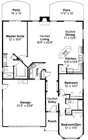 house plans with vaulted ceilings courtyard house plan by naples architect designs with vaulted