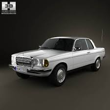 3d class price mercedes e class w123 coupe 1975 3d model from humster3d