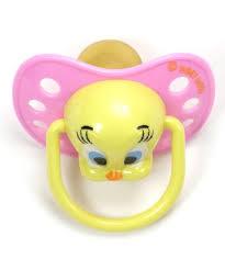 baby looney tunes pacifiers baby looney tunes tweety pacifiers asstd