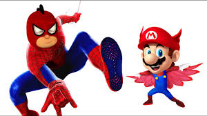 pj masks spider man super mario coloring pages for kids spider