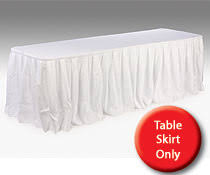 8 ft table skirt banquet table skirts 6 or 8