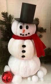 festive snowman pumpkin u2013 crazy for d i y