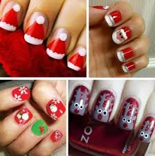 131 best christmas nails images on pinterest holiday nails