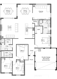 open concept two story house plans four bedroom one interesting