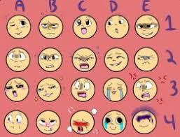 Expressions Meme - expression meme by chilliu on deviantart