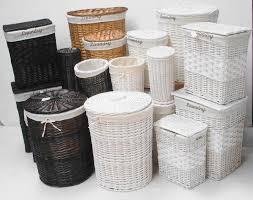 bathroom storage wicker baskets home design judea us
