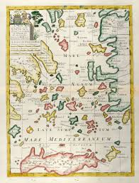 Map Of Greece Islands by A New Map Of The Islands Of The Aegaean Sea Together With The
