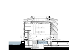 Movie Theater Floor Plan Han Show Theatre Stufish Entertainment Architects Archdaily