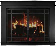fireplace screen with glass doors pleasant hearth fireplace screens u0026 doors ebay