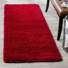 Black And Red Shaggy Rugs Red Shag Rugs U0026 Area Rugs For Less Overstock Com