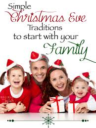 traditions to start with your family
