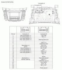 radio wiring diagram hyundai wiring diagrams instruction