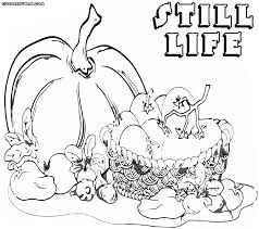 still life coloring pages coloring pages to download and print