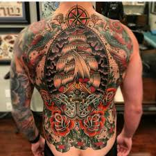 Back Tattoos - 110 back designs for designs meanings 2017