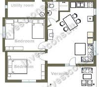 simple four bedroom house plans modern two bedroom house plans simple images design
