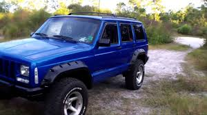 jeep cherokee chief xj jeep cherokee xj fender flares bushwacker youtube