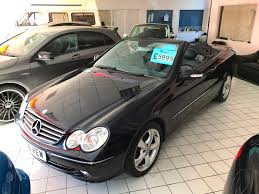 used mercedes benz clk convertible for sale motors co uk