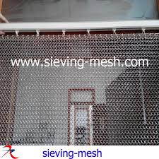 Chain Mail Curtain Decorative Chainmail Rings Stainless Steel Chainmail Curtain