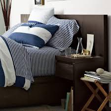 Chocolate Bed Linen - storage bed headboard chocolate west elm