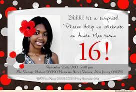 dot birthday invitations fun red black u0026 white