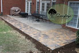 Concrete Patio With Pavers Extending A Concrete Patio Pin By Tracy Mckenna Kersteter On