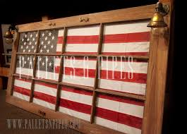 Flag Measurements American Flag In Window Vintage Window With American Flag And